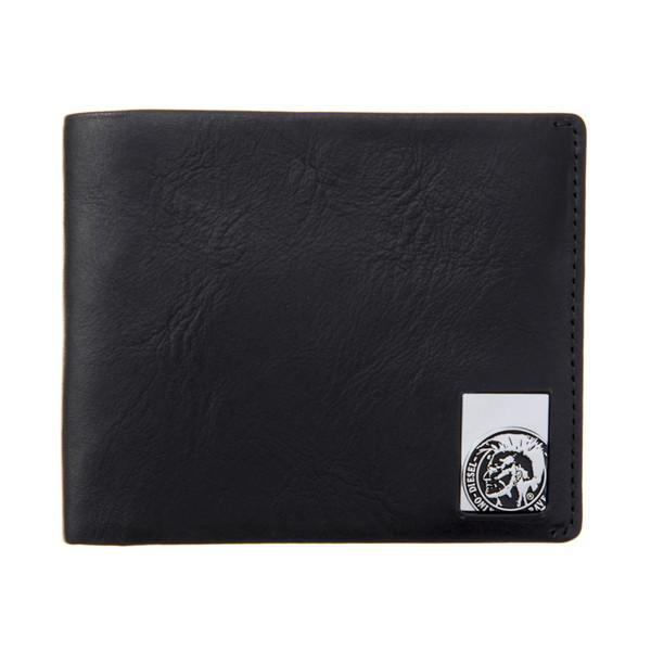 ディーゼル DIESEL【X05345PR480T8013】Black 二つ折り財布【送料無料】
