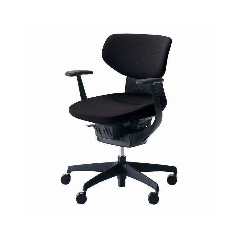 コクヨ オフィスチェア イング CR-G3201E6G4B6-VN クッションタイプ ラテラルタイプ ブラックシェル 【配送・組立・設置込】(代引不可)【送料無料】