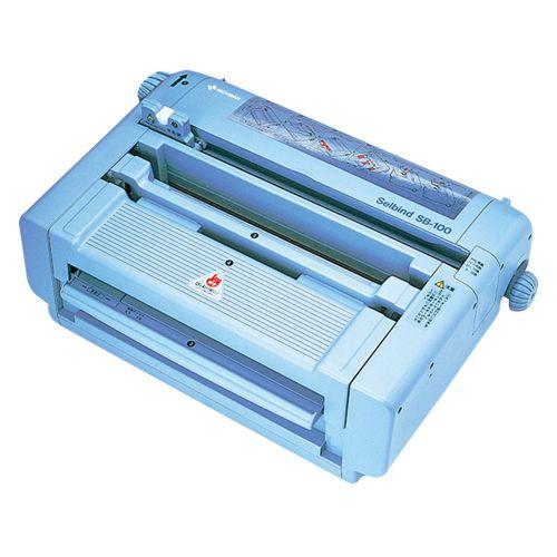ニチバン 背貼り製本機 1 台 SB-100 文房具 オフィス 用品