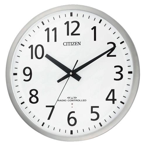 シチズン 電波時計 スペイシーM463 1 個 8MY463-019 文房具 オフィス 用品