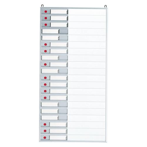 クラウン 行動表示板 1 台 CR-NF23K-SW 文房具 オフィス 用品
