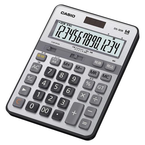 カシオ 実務電卓 デスクサイズ 14桁 1台