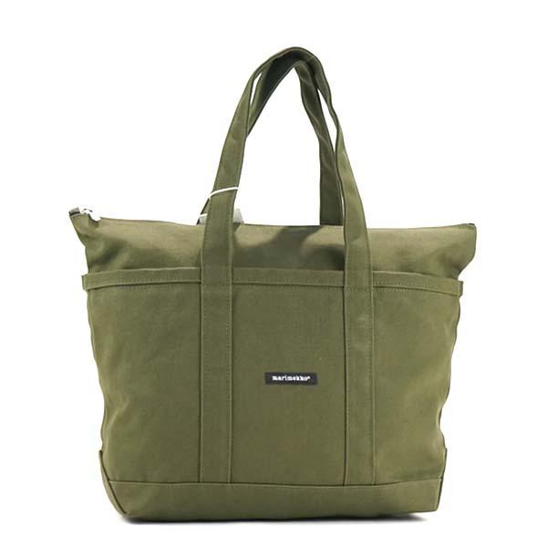 8b12f3ee57f rikomendo  マリメッコ marimekko tote bag 40864 UUSI MINI MATKURI BAG olive green  female office worker