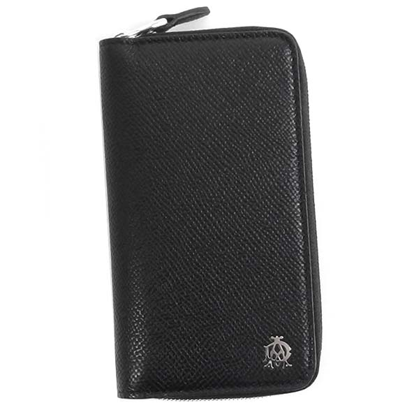 ダンヒル DUNHILL キーケース L2Z2Z2A ZIP AROUND KEY CASE BLACK BK