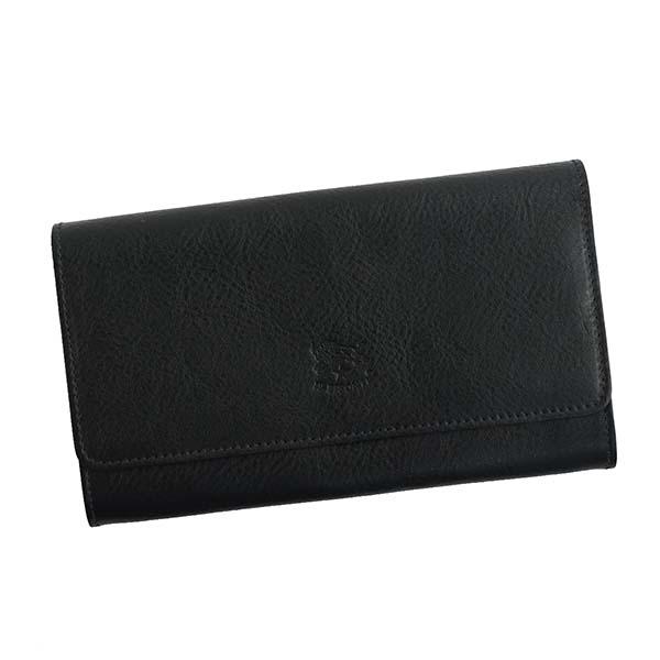 IL BISONTE イルビゾンテ C1059 P フラップナガザイフ BK 153 長財布【送料無料】