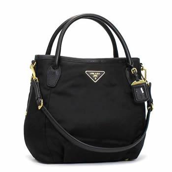 31f3cb8de55a rikomendo: Prada PRADA handbag VITELLO DAINO BR4420 NERO BK ...
