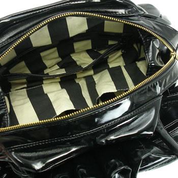 ヴィヴィアン ウエストウッド VIVIENNE WESTWOOD ハンドバッグ BOW BAGS 5002 NERO BKtQCodBhsrx
