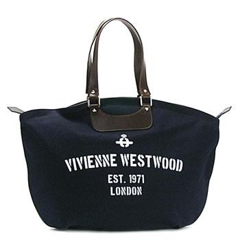 ヴィヴィアン ウエストウッド VIVIENNE WESTWOOD ショルダーバッグ REGIMENT 13170 SHOPPER BLUE BL:リコメン堂