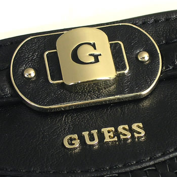 Guess GUESS Tote MAURITIUS VG331622 MAURITIUS SMALL CARRYALL BLACK BK