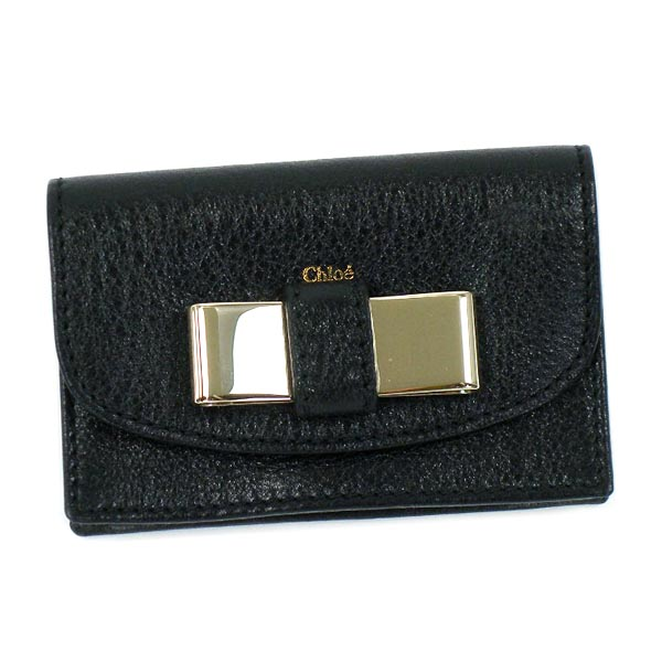 Chloe CHLOE card LILY 3P0550 BUSINESS CARD HOLDER BLACK BK