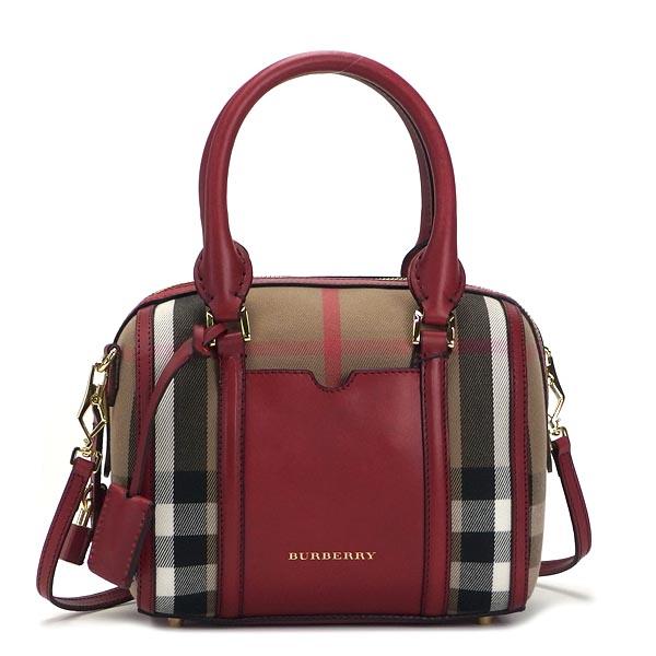 7a67a4bb8eb1 Burberry BURBERRY handbag LL SM ALCHESTER BHO BOWLING MILITARY RED RED