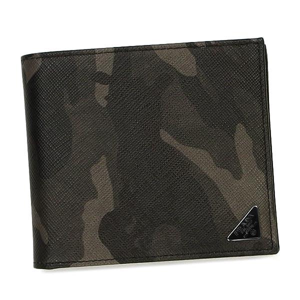【在庫有】 プラダ PRADA FUMO 財布 財布 二つ折りカード PRADA 2M0738 FUMO GY, VELLE:c78b3ce3 --- essexadvan.co.uk