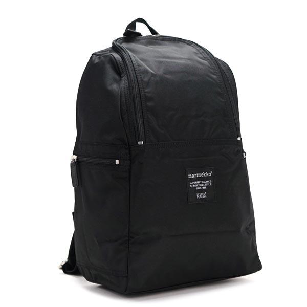 マリメッコ marimekko バックパック 39972 METRO BLACK BK
