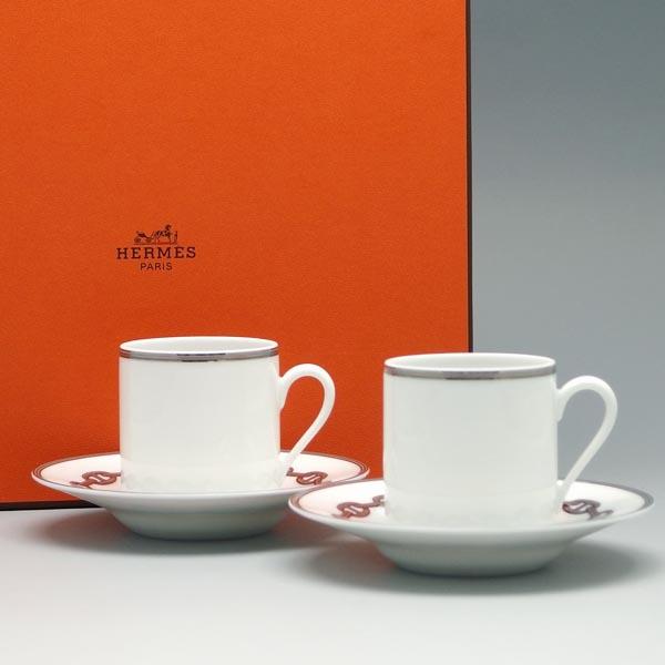 エルメス HERMES カップ&ソーサー 04117P COFFE CUP AND SAUCER