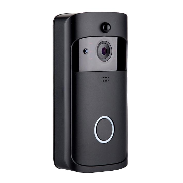 ワイヤレスいつでもドアホン TY-1808 インターホン 呼び鈴 ワイヤレス どこでも 防犯 対策 カメラ アプリ(代引不可)【送料無料】【S1】