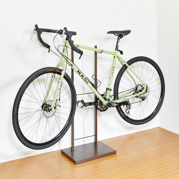 日本製 室内自転車スタンド 1台用 自転車置き 自転車 収納 室内 国産 ディスプレイラック(代引不可)【送料無料】