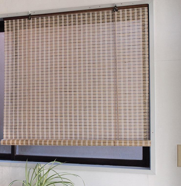 通気性のある麻スクリーン RH-746W ベージュ 1760×1800(代引不可)【送料無料】