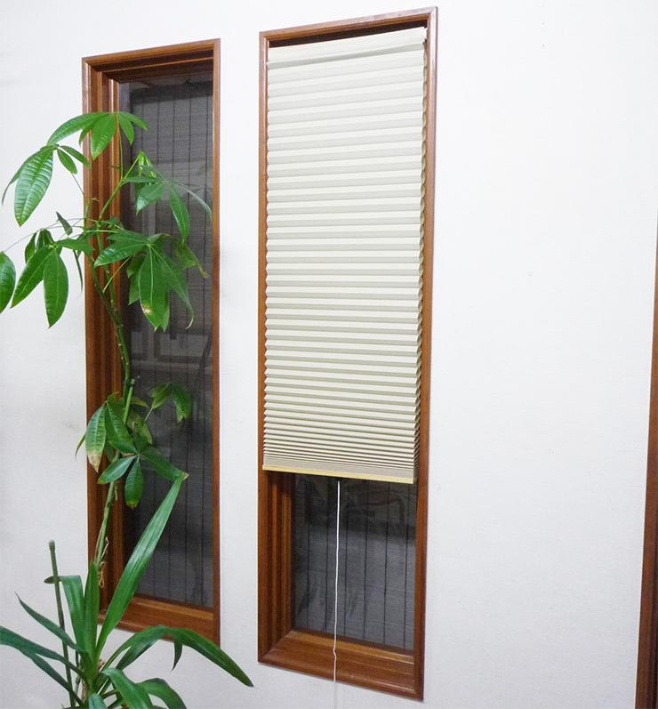 送料無料 国産 小窓用断熱スクリーン NHT-3001SM 代引不可 お見舞い 通販 激安◆ 350×1350 ベージュ