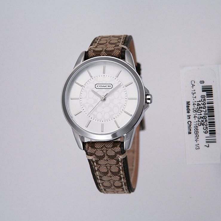 COACH 腕時計 レディース 14501525 クラシックシグネチャー【送料無料】