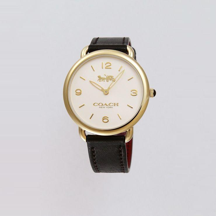 COACH 腕時計 ボーイズ 14502794 デランシースリム【送料無料】
