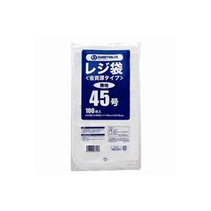 (まとめ買い)ジョインテックス レジ袋[省資源タイプ]No.45 100枚 B745J 【×20セット】