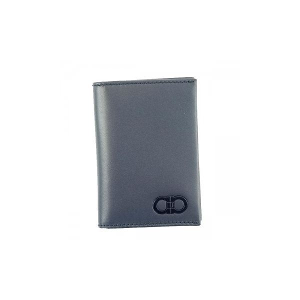 Ferragamo(フェラガモ) カードケース 660737 BLUE MARINE