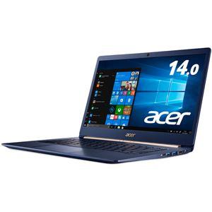 Acer Swift 5 SF514-52T-H58Y/B (Core i5-8250U/8GB/512GBSSD/ドライブなし/14.0/Windows 10 Home 64bit/チャコールブルー)【送料無料】
