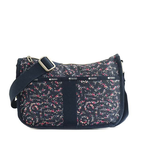 LESPORTSAC(レスポートサック) ナナメガケバッグ 4230 G015 FAIRY FLORAL BLUE