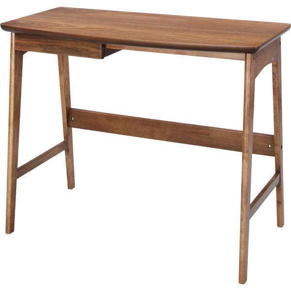 【ぬくもり家具】Tomteトムテ 天然木デスク TAC-243WAL