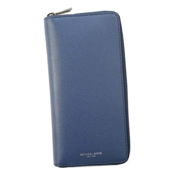 Michael Kors(マイケルコース) ラウンド長財布 39F5LHRE3L 482 SEA BLUE