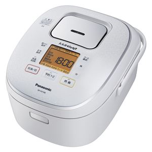 パナソニック(家電) IHジャー炊飯器 1.0L (スノーホワイト)