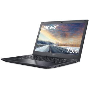 Acer TMP259G2M-N58U/HB (Core i5-7200U/8GB/256GBSSD+500GB HDD/DVD+/-RW/15.6型/フルHD/Windows 10 Pro64bit/1年保証/ブラック/Officeなし)【送料無料】