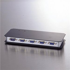 ELECOM(エレコム) ディスプレイ分配機 VSP-A4【int_d11】