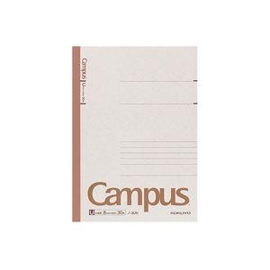 (まとめ)キャンパスノート セミB5 U罫 30枚 180冊