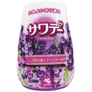 (まとめ買い)小林製薬 香り薫るサワデー本体 ラベンダーの香り 【×40セット】
