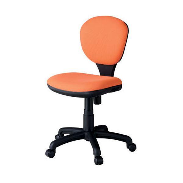 ジョインテックス 事務イス(オフィスチェア/OAチェア) C301J オレンジ