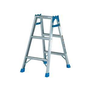ステップ幅広 はしご兼用脚立 KW-90 810mm