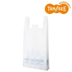 (まとめ)乳白レジ袋 No80 100枚入×60【int_d11】