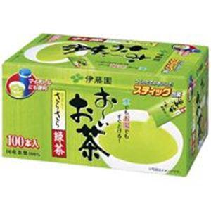 (まとめ買い)伊藤園 おーいお茶 抹茶入りさらさら緑茶 100本 【×6セット】