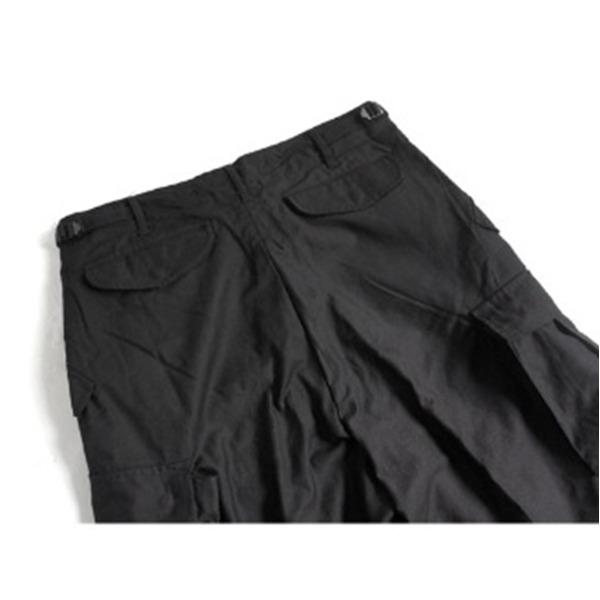 USタイプ M 65 フィールドショート丈パンツ ブラック メンズ Mサイズレプリカ35Aj4RL