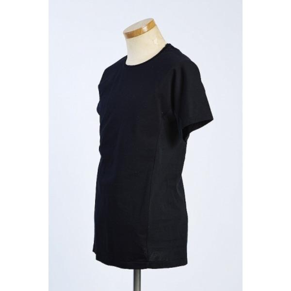 VADEL draping dolman crew-neck BLACK サイズ46【代引不可】