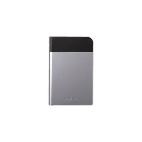 BUFFALO バッファロー ICカード対応MILスペック 耐衝撃ボディー防雨防塵ポータブルHDD シルバー 2TB HD-PZN2.0U3-S HD-PZN2.0U3S