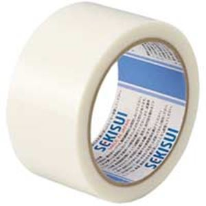 (業務用100セット) セキスイ 養生用テープフィットライト738 50X25 半透 ×100セット