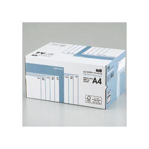 (まとめ) TANOSEE αエコカラーペーパーII A4 ライトクリーム 業務用パック 1箱(5000枚:500枚×10冊) 【×10セット】