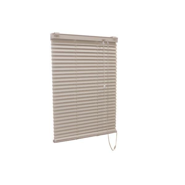 アルミ製 ブラインド 【128cm×183cm アイボリー】 日本製 折れにくい 光量調節 熱効率向上 『ティオリオ』【代引不可】【送料無料】