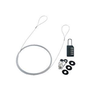 PC/パソコン保護用品 セキュリティー用品 事務用品 まとめ (業務用30セット) サンワサプライ セキュリティワイヤーロック SL-60 ×30セット