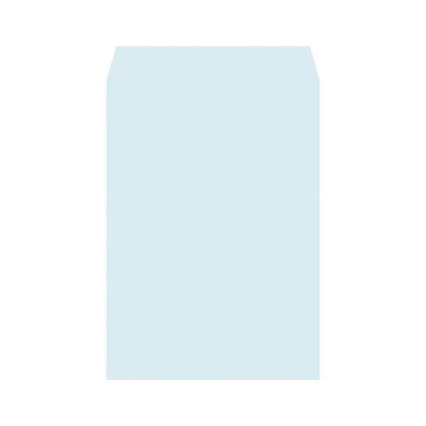 高春堂 ハーフトーン封筒 角2 ブルー 100枚×5 Lシーム 7871