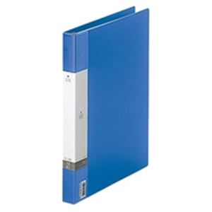 (業務用50セット) LIHITLAB クリヤーブック クリアブック リクエスト G3801-8 A4S 青 ×50セット