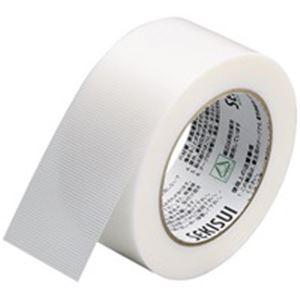(業務用50セット) セキスイ 養生用テープフィットライト738 幅50mm×長さ50m 半透 ×50セット