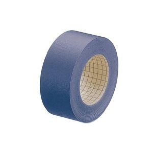 (業務用100セット) プラス 紙クロステープ AT-035JC 35mm×12m 紺 ×100セット